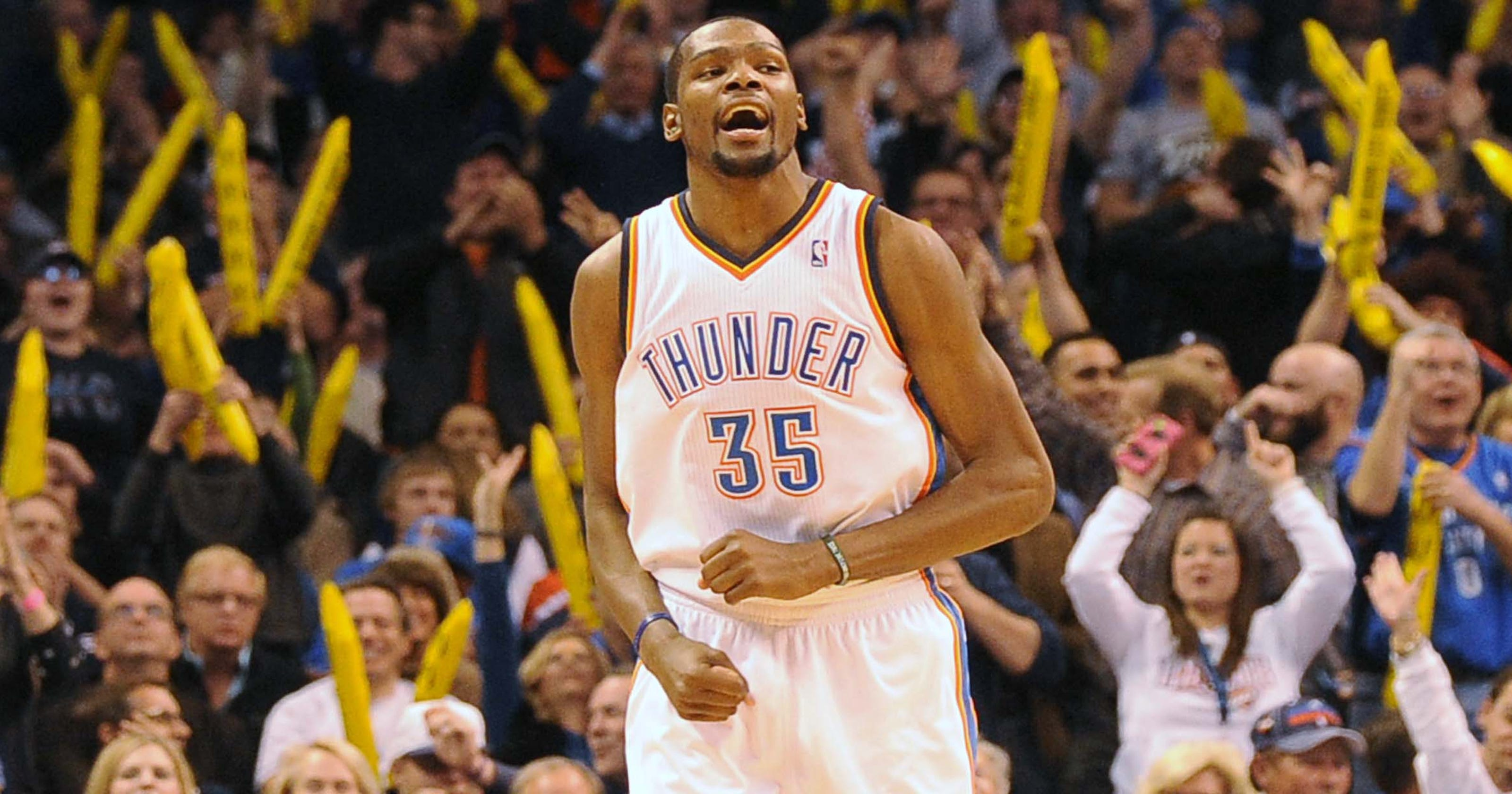 8078a156697 By the Numbers  Kevin Durant s 54-point game