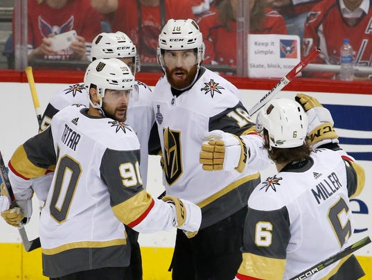USP NHL: STANLEY CUP FINAL-VEGAS GOLDEN KNIGHTS AT S HKN WSH VGK USA DC