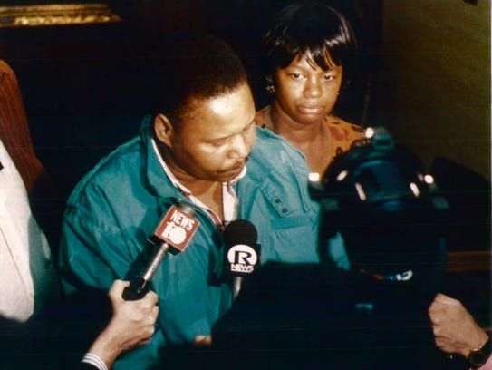 Dolphus and Constance Henton, parents of murder victim,
