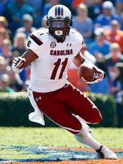 South Carolina receiver Pharoh Cooper