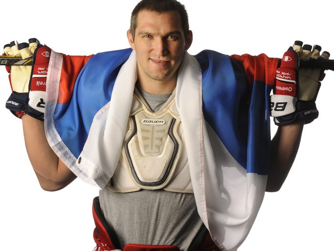 Washington Capitals captain Alex Ovechkin will be leading the Russian Olympic hockey team on home ice in Sochi.