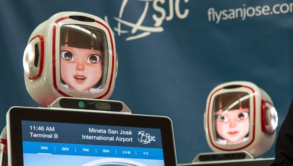 In October 2016, robots joined the team at Mineta San