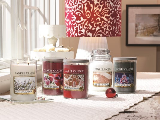 Yankee Candle new holiday candles