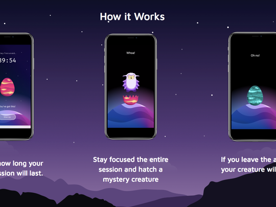 Users of Hatch, a focus app, can collect mystery creatures