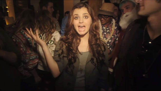 'Saturday' is a new video from Rebecca Black and Dave Days.