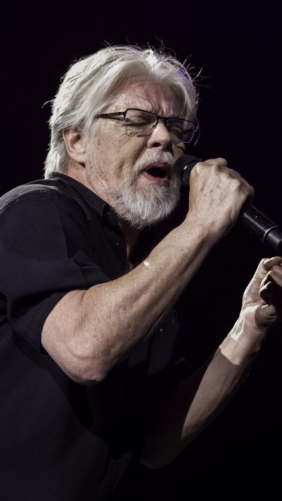 Bob Seger and the Silver Bullet Band performs at the Denny Sanford Premier Center in Sioux Falls on Tuesday, March 17.