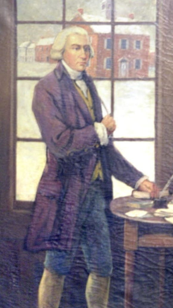 James Smith, York County's signer of the Declaration