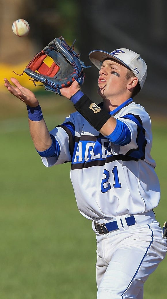 Junior shortstop Joseph Mershon and the Eastside Eagles