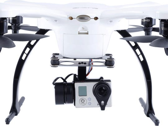 The IndieGogo-funded Ghost Drone allows for control via a smartphone.