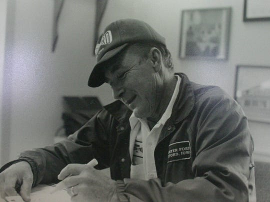Ted Carter, the longtime face behind the success of Carter Ford.