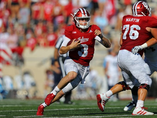 Peyton Ramsey became the first IU freshman quarterback