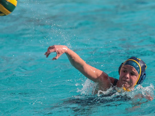 La Quinta's Savannah Hampton shoots and scores against