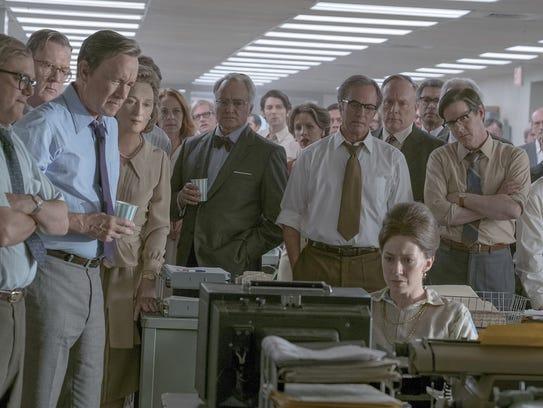 """The Post,"" starring Meryl Streep and Tom Hanks, will"