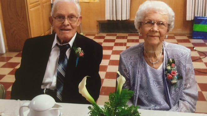 Raymond and Ruth Krueger celebrated 75 years together Aug. 3 in Forestville.