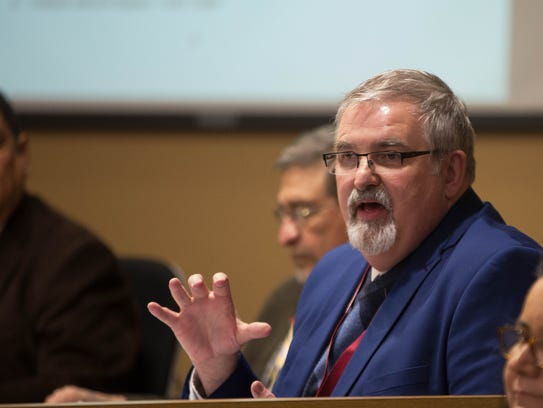 Greg Ewing, Las Cruces Public Schools, superintendent