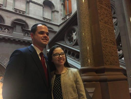 Senator Carlucci and Lauren Shields