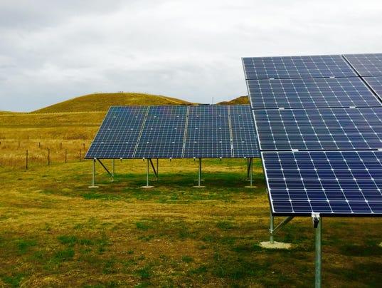 1 demo solar project