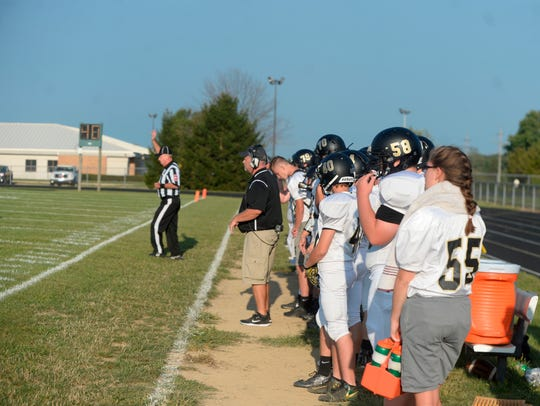Northeastern defeated Winchester 34-16 in a Tri-Eastern