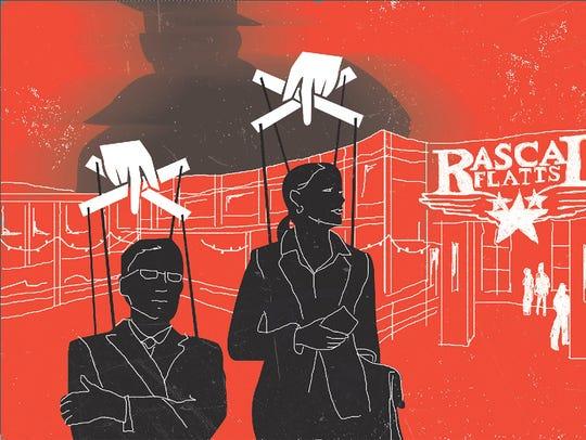 Rascal Flatts restaurants failed nationwide. Did a
