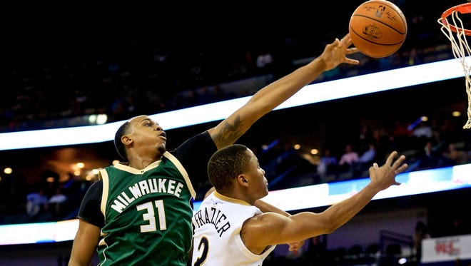 Bucks center John Henson, who had five rebounds and no points in 16 minutes off the bench when Milwaukee played New Orleans Nov. 1, said it was no secret many of the players supported Hillary Clinton in the presidential election on Tuesday.