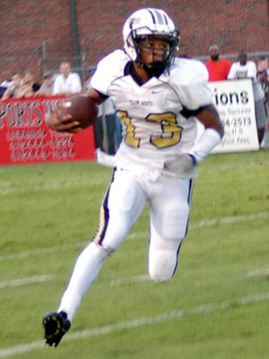 Springfield's Timmie Barbee scored four touchdowns, including the go-ahead score to seal the 33-29 victory.
