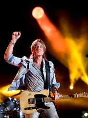 Keith Urban performs at the 2018 CMA Music Festival