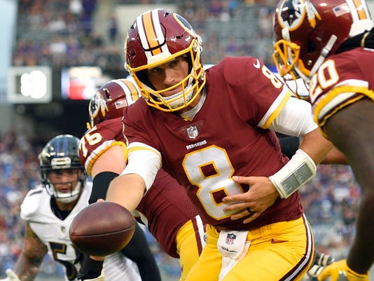 c67757b40 2017-08-17-kirk-cousins. Could QB Kirk Cousins  sixth season with the  Redskins ...