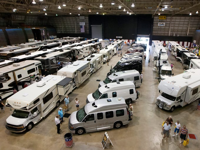 The 30th Annual Fort Myers RV Show kicked off Thursday