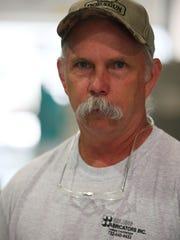 Stephen Spaulding, owner, of Spaulding Fabricators