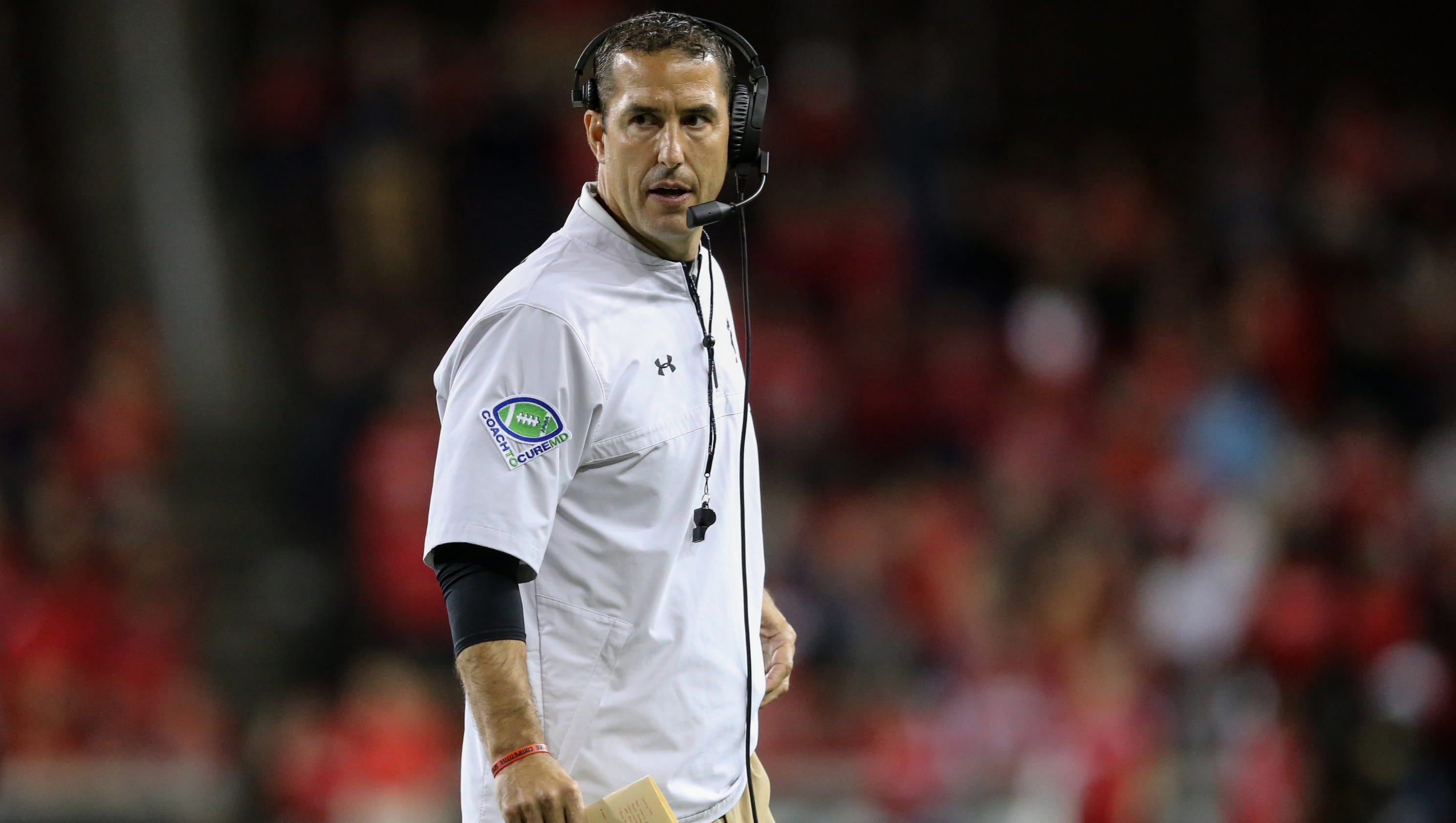 Luke fickell on uc coaching stay 39 it 39 s been difficult 39 for Marshalls cincinnati oh