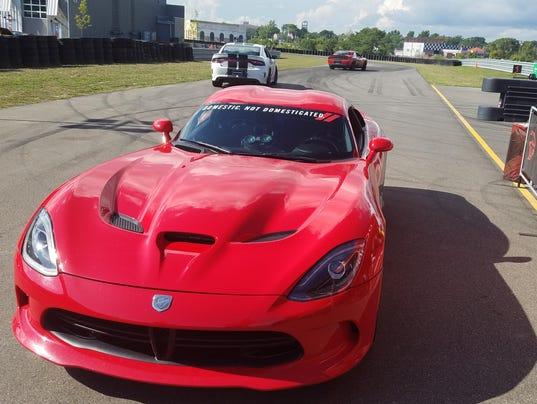 Viper Heart Beat Pulse Decal Sticker Left American Dodge SRT Racing Pair