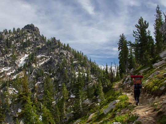 The Elkhorn Crest Trail.
