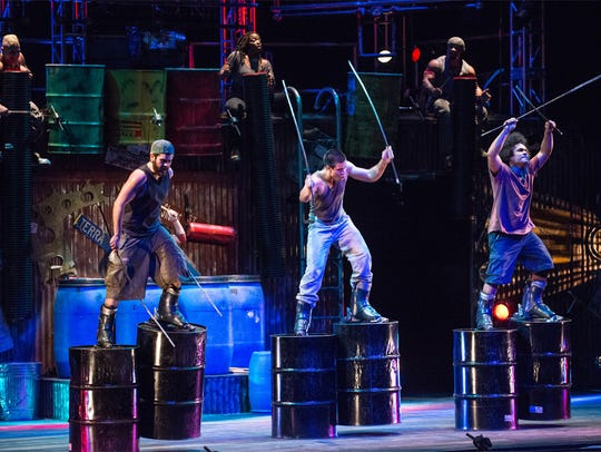 """Stomp"" shows at 8 p.m. Feb. 23 and 24 and 2 p.m. Feb. 24 at the Pioneer Center."