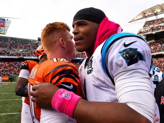USP NFL: CAROLINA PANTHERS AT CINCINNATI BENGALS S FBN USA OH