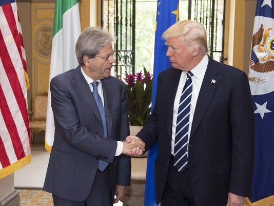 EPA ITALY USA DIPLOMACY POL DIPLOMACY ITA