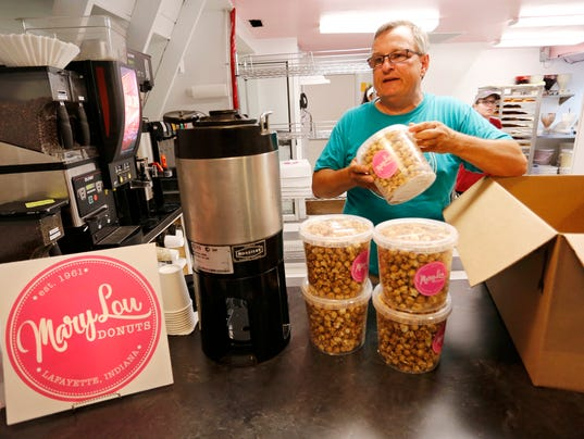 LAF Mary Lou Donuts launches line of snacks, coffees, online ordering