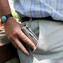 Citizen-Times reporter John Boyle recently took a training class to receive his concealed carry permit.