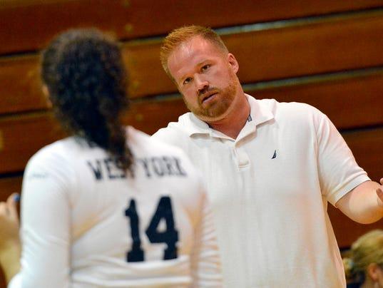 Eastern York vs West York girl's volleyball