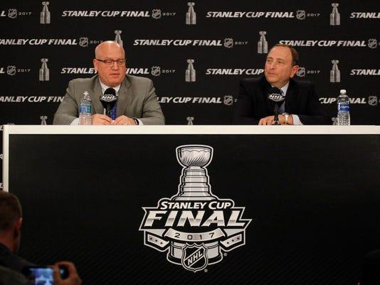 USP NHL: STANLEY CUP FINAL-NASHVILLE PREDATORS AT S HKN PIT NSH USA PA