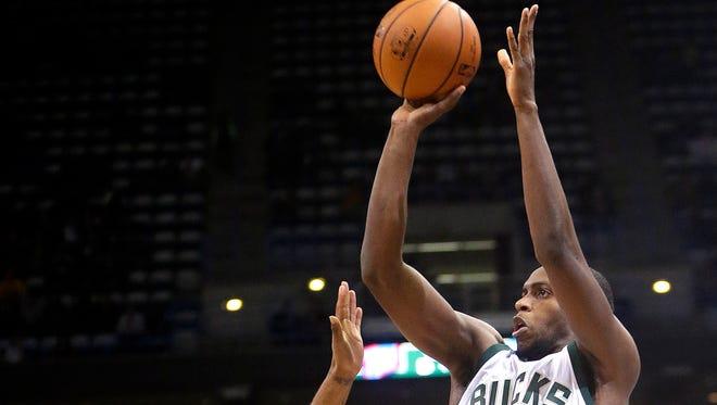 Khris Middleton averaged 18.2 points in 79 games for the Bucks last season.