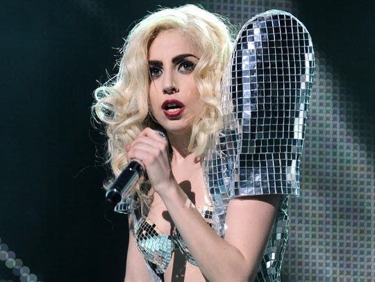 """Lady Gaga issued her debut album, """"The Fame,"""" in 2008."""