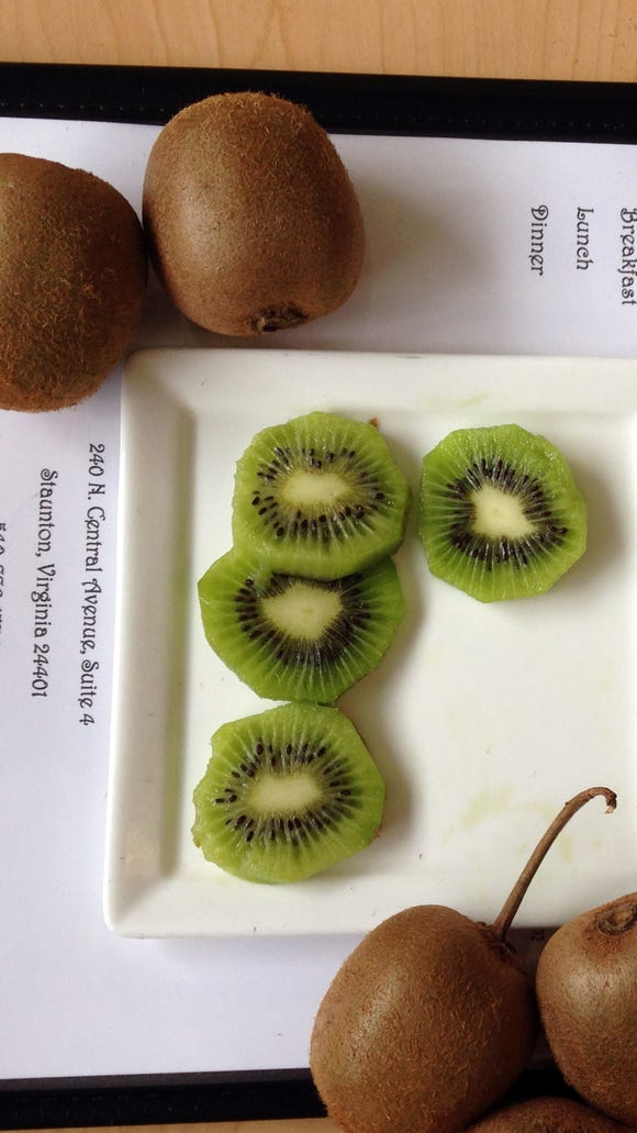 Kiwis from a local grower, Nov. 10, 2015.