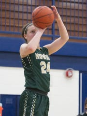 Howell's Leah Weslock shoots in the fourth quarter