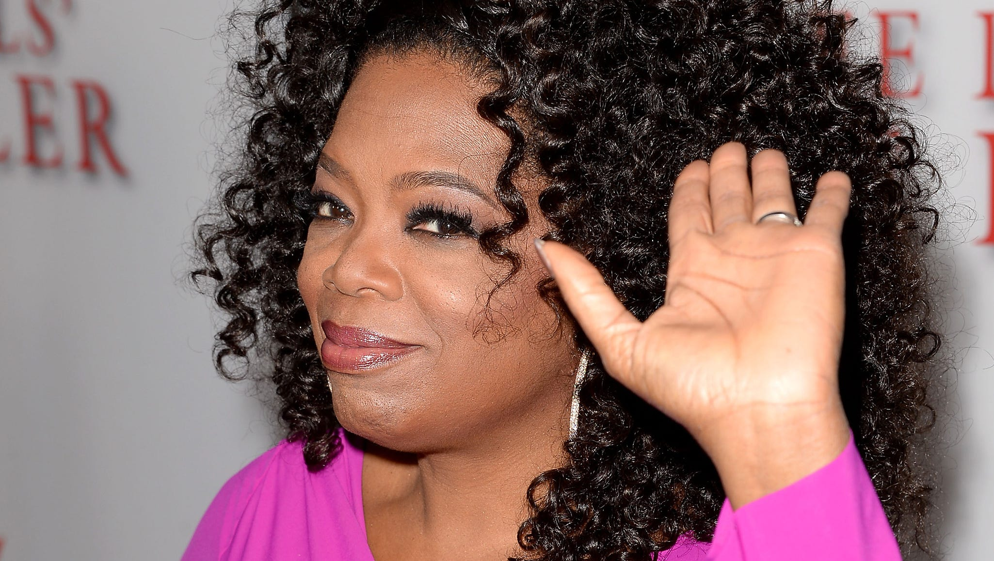 "Oprah Winfrey arrives at the premiere of ""The Butler"" at Regal Cinema's L.A. Live on Aug. 12 in Los Angeles."