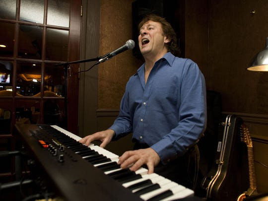 Bruce Foster performs at CJ Montana's in Tinton Falls.