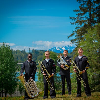 Navy Band Northwest will perform Sunday at Rocky Mountain