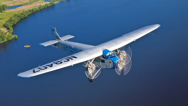 The Experimental Aircraft Association is brining the first-ever mass produced airline — the Ford Tri-Motor 5-AT —  to St. Cloud Regional Airport for public viewing and flights July 6-9.