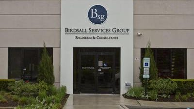 The former Eatontown headquarters of the defunct Birdsall Services Group.