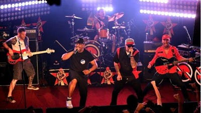 Prophets of Rage play Riverbend Oct. 5. Tickets go on sale Friday. The band consists of members of Rage Against the Machine, Public Enemy and Cypress Hill.