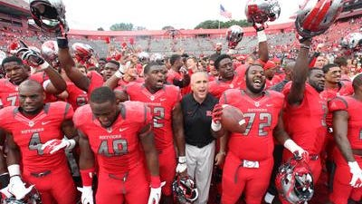 The Rutgers football team will host Penn State at 8 p.m. Sept. 13 at High Point Solutions Stadium in a game broadcast on Big Ten Network.